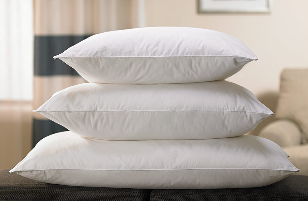 Down alternative eco pillow shop fairfield inn suites for Comfort inn suites pillows