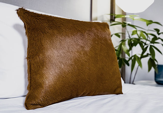 Fairfield Cowhide Pillow