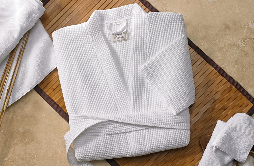 Waffle Kimono Robe - Fairfield Hotel Store