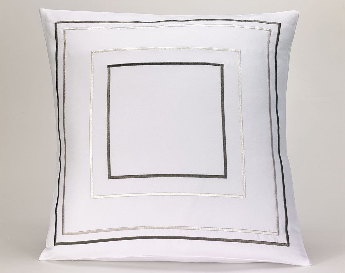 Grey Amp Taupe Frames Throw Pillow Shop Fairfield Pillows